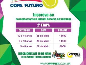 2a. Etapa da Copa Futuro será de 25 a 27 de maio